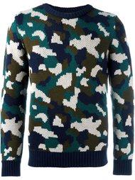 свитер с камуфляжным принтом  Lc23