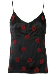silk embroidered top Isabela Capeto