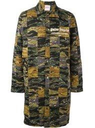 пальто с абстрактным принтом   Palm Angels