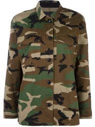 камуфляжная куртка в стиле милитари Rag & Bone /Jean
