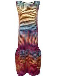 длинное платье 'Prism' с геометрическим узором Issey Miyake