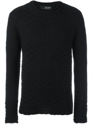 свитер с геометрическим узором Tom Rebl