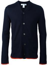 кардиган с контрастной окантовкой  Comme Des Garçons Shirt Boy