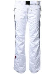 брюки с вышивкой Kru