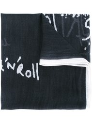 шарф с принтом  Closed