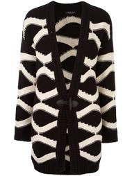 wavy intarsia cardigan Twin-Set
