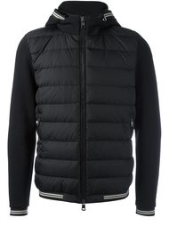 padded front hoodie Moncler
