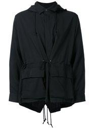 куртка с капюшоном и накладными карманами Christian Dada