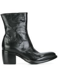 ботинки на наборном каблуке Rocco P.
