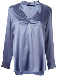 блузка с V-образным вырезом Les Copains