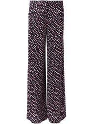брюки с узором в горох Diane Von Furstenberg