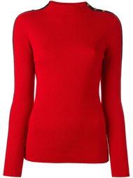 свитер с полосатой отделкой 'Sardy'  Tory Burch