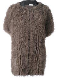 куртка с капюшоном и короткими рукавами Brunello Cucinelli
