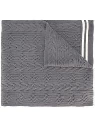 шарф с контрастными полосками   Comme Des Garçons Shirt