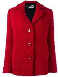 куртка букле Love Moschino
