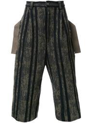 bleached stripe culottes Maison Mihara Yasuhiro