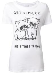 футболка 'Get rich' Zoe Karssen