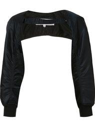рукава в стиле куртки бомбер Comme Des Garçons Noir Kei Ninomiya