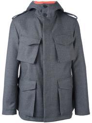 multi-pocket hooded jacket Wooster + Lardini