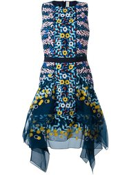 платье с абстрактной вышивкой Peter Pilotto
