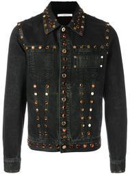 декорированная джинсовая куртка  Givenchy