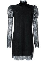 кружевное платье с высокой горловиной Philosophy Di Lorenzo Serafini