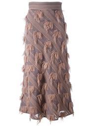 юбка с бахромой Si Jay