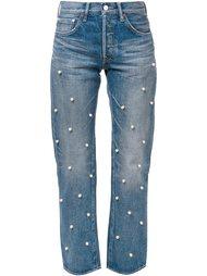 декорированные прямые джинсы Tu Es Mon Tresor