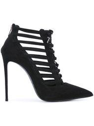 туфли-лодочки со шнуровкой Le Silla