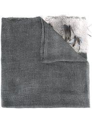 шарф с необработанными краями   Cutuli Cult