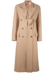 длинное фетровое пальто Maison Margiela