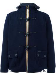 двухсторонняя куртка с застежкой-тогл Bark