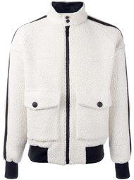 куртка с контрастной полосой Andrea Pompilio