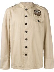 пиджак с заплатками Amen