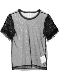 loop fringe sheer T-shirt Comme Des Garçons Noir Kei Ninomiya