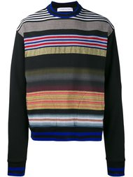 striped sweatshirt  James Long