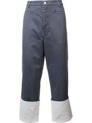 широкие джинсы Loewe