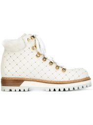ботинки с заклепками Le Silla