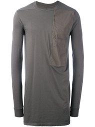 футболка с нагрудным карманом Rick Owens DRKSHDW