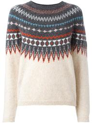 свитер с узором  Closed