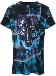 tie dye wolf T-shirt Amiri