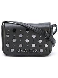 мини сумка через плечо с заклепками Armani Jeans