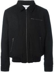 zipped bomber jacket  Les Benjamins