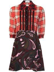 платье-рубашка с узорами Coach