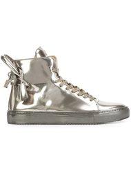 '125mm' Metallic sneakers Buscemi