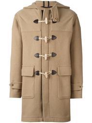 пальто-дафлкот с капюшоном Palm Angels