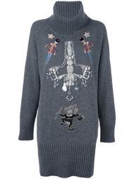 объемный декорированный кашемировый джемпер Dolce & Gabbana