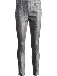 metallic skinny trousers Monse