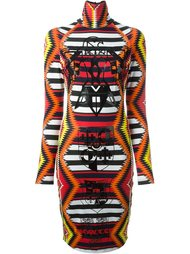 платье с ацтекским узором KTZ