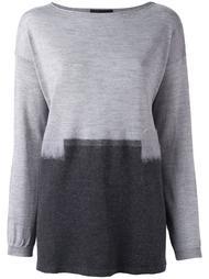свитер с разрезом сзади Les Copains